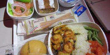 《Emirates Flight Experience TPE-MAD》Great FOOD & DESSERT
