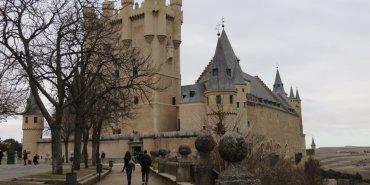 《西班牙Segovia》沒有白雪公主的塞哥維亞城堡 Alcázar de Segovia