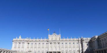 《西班牙馬德里》馬德里王宮與Starbucks的邂逅