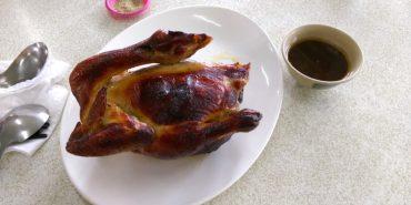 新北樹林 阿港伯黃金甕仔雞 香酥多汁的甕烤雞配上渾圓飽滿的蛤蜊湯 (更新)