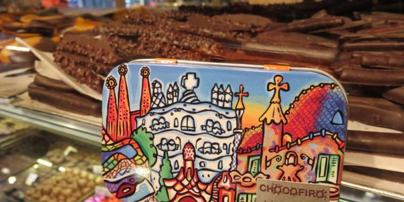 《聖十字聖保羅醫院》巴塞隆納 Chocofiro百年招牌手工巧克力