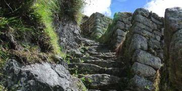 《南美》祕魯。庫斯科。印加古道兩天一夜。讓我們朝馬比丘前進吧!!! (1st Day中)