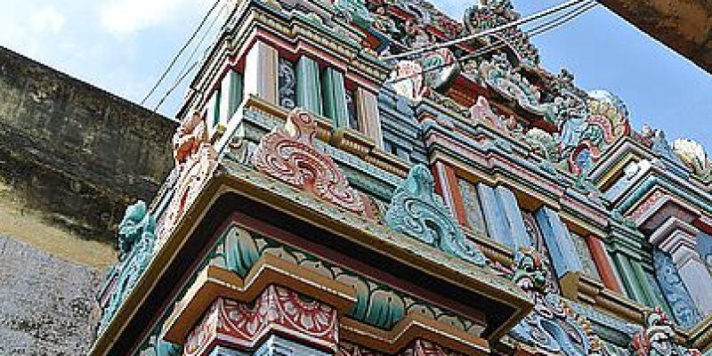 奇幻南印Day5 崔奇 斯里蘭甘寺院 Sri Ranganathaswamy Temple