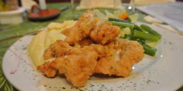 《南美》普諾。Hacienda Restaurant。臣服於超美味馬鈴薯泥~天啊!!!