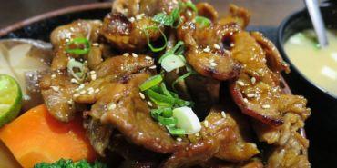 台北。八坂丼屋。不到兩百 享受日式料理的小確幸