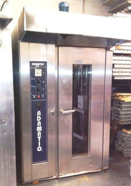 Used Adamatic Hobart Cro 1g Single Rack Gas Oven