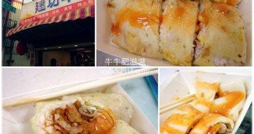 新竹美食│建功早餐。升級版的傳統早餐!份量超大的蛋餅包飯*