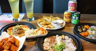 新竹竹北│劉震川日韓大食館韓式料理。獨創韓式火烤兩吃套餐!6+PLAZA美食餐廳*