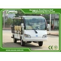 Excar White 72v 11 Seater Electric Sightseeing Car With