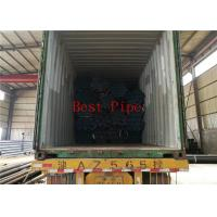 Solid Material Alloy Steel Seamless Pipes Tevi Sudate Din