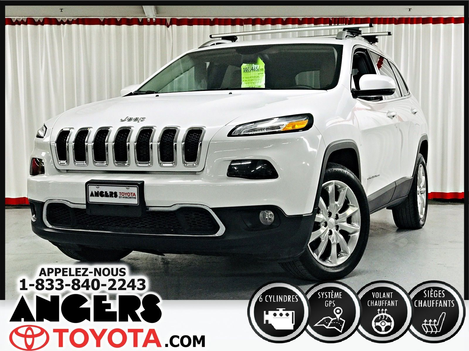 Garage Bmw Angers Used 2017 Jeep Cherokee Limited In Saint Hyacinthe Used
