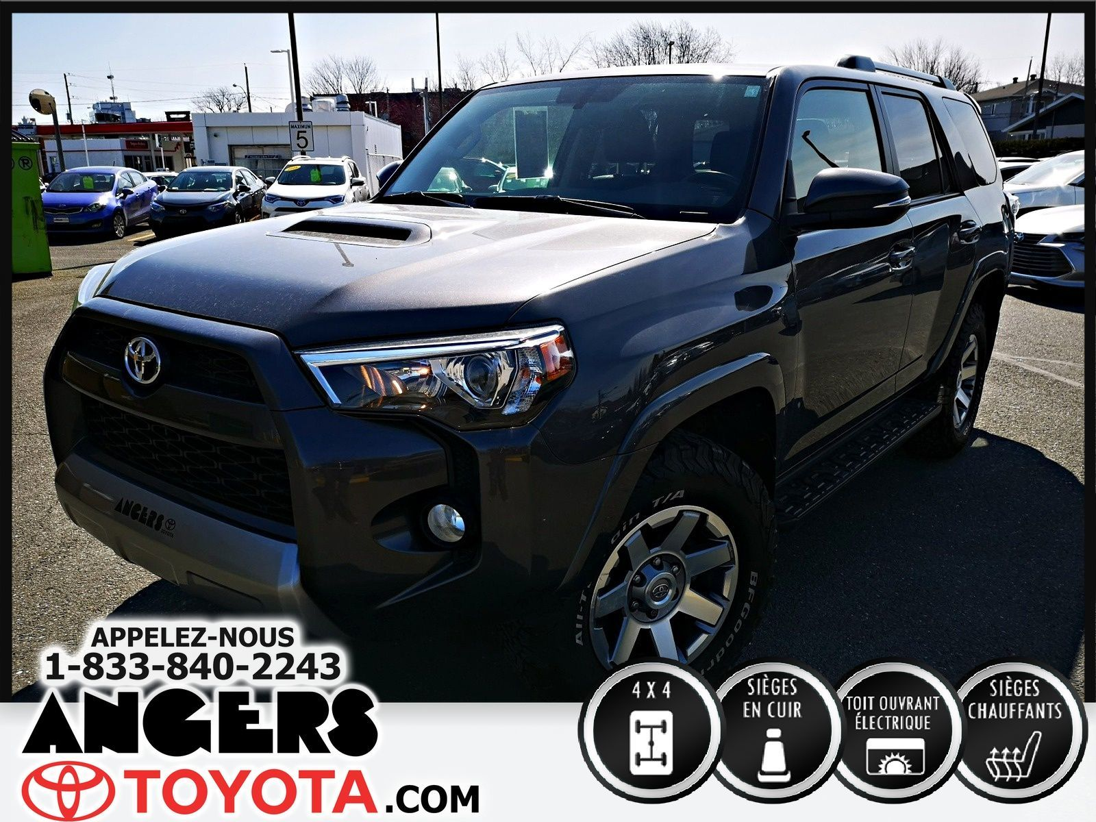 Garage Bmw Angers Used 2016 Toyota 4runner Trd Off Road In Saint Hyacinthe Used