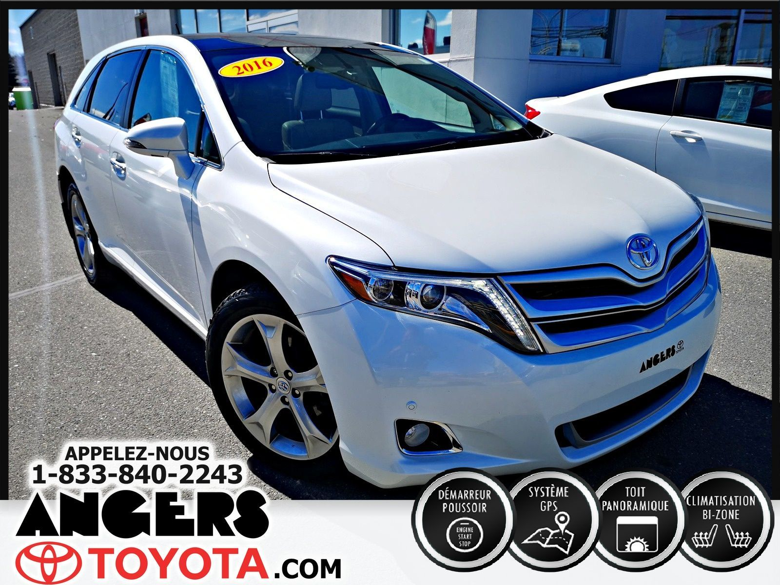 Garage Bmw Angers Used 2016 Toyota Venza Awd Limited Pkg Limited 4wd In Saint