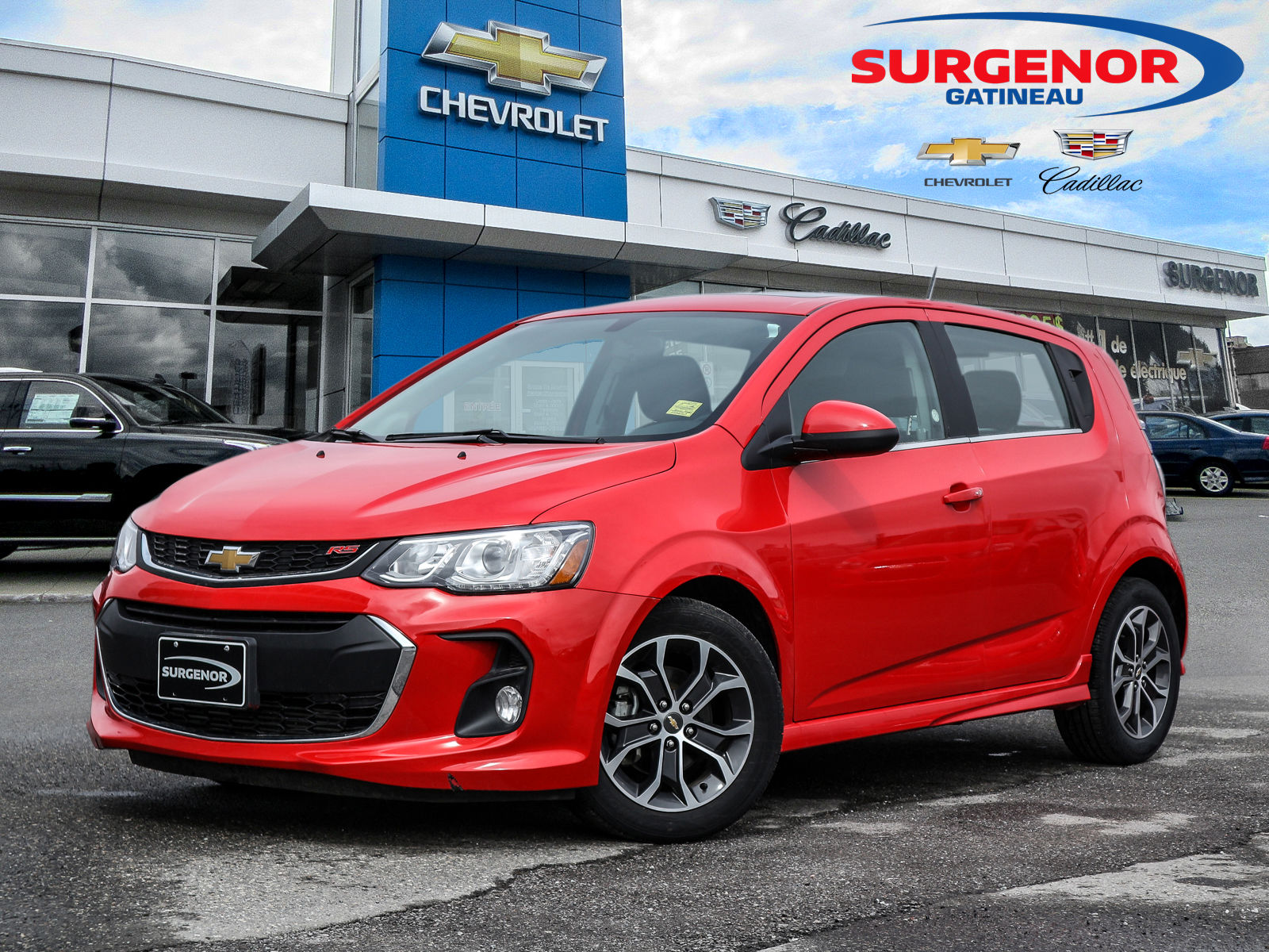 Smart 5 Portes Used 2017 Chevrolet Sonic Rs 5 Portes Toit Auto Air Bluetooh Roof