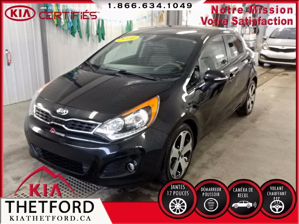 Volant Interieur Used 2014 Kia Rio 5 Sx Interieur 2 Tons Camera Volant Chauffant In