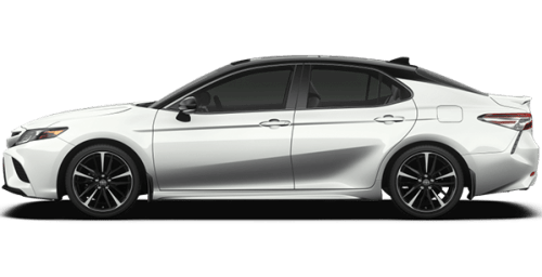 2019 toyota camry xse pearl white