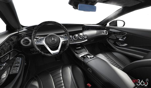 mercedes c class coupe interior