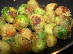 Fantastic Parmesan Deep Fried Brussel Sprouts Food Network Cheesy Fried Brussels Sprouts Recipe Genius Kitchen Deep Fried Brussel Sprouts