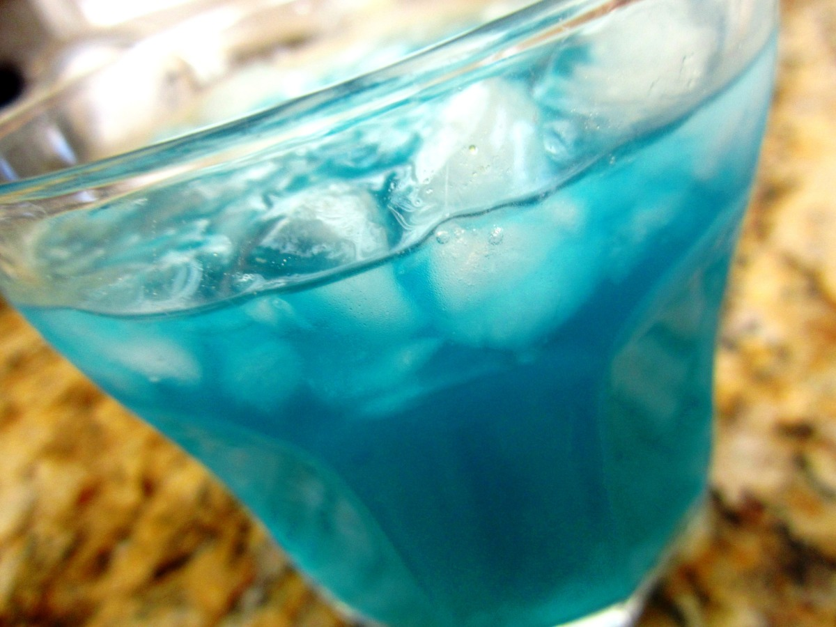 Blue Curacao Cocktail Alkoholfrei Blue Monkey