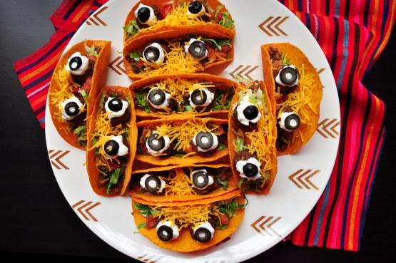 Spooky Eyeball Tacos Johnny #5 Tacos) Recipe - MexicanGenius Kitchen