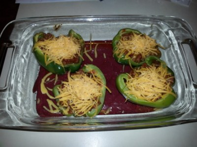 Manwich Stuffed Bell Peppers Easy Recipe) Recipe - Genius Kitchen