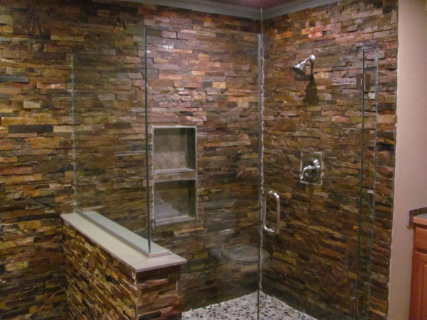 River Rock Tile Shower Floor Information About Rate My Space | Questions For Hgtv.com