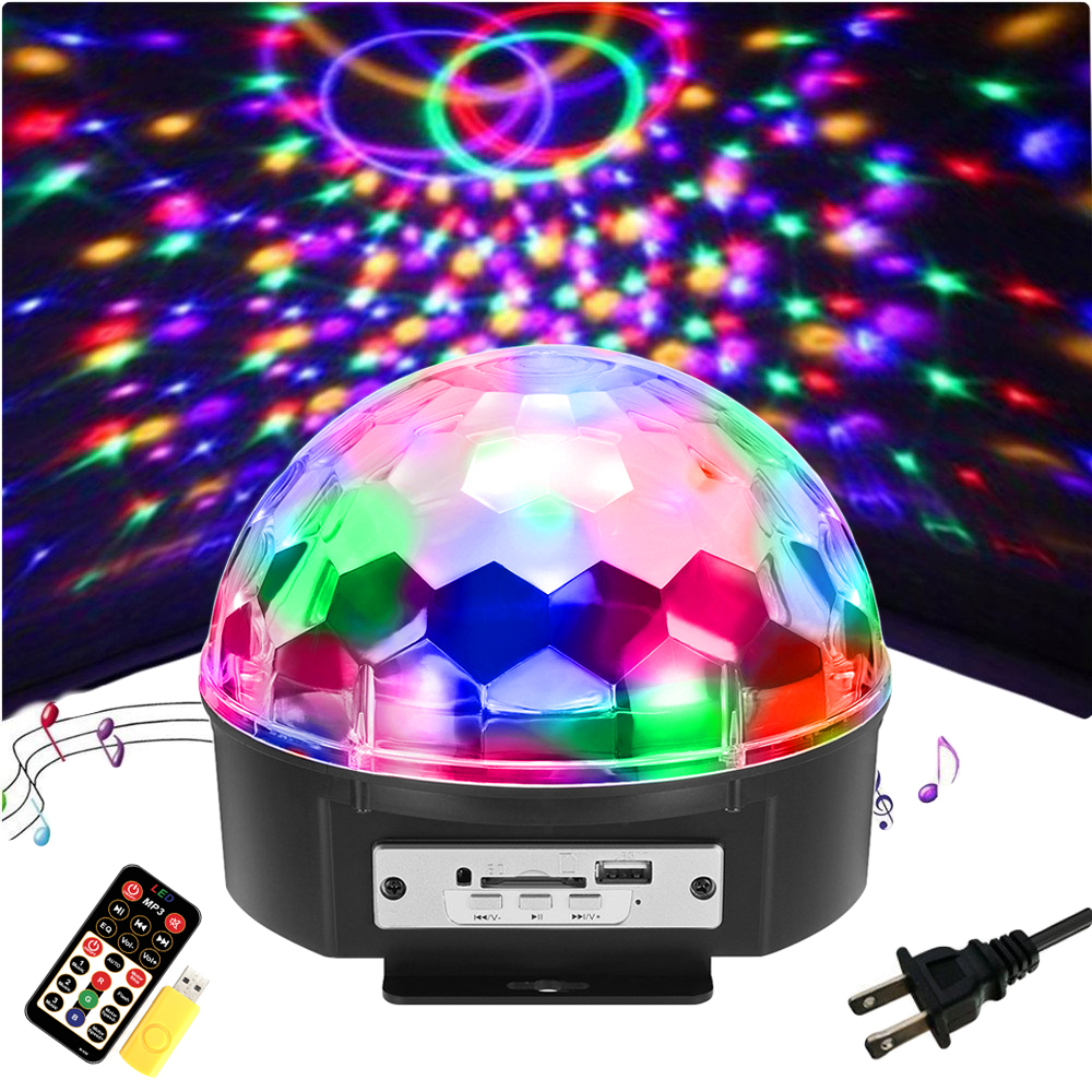 Led Disco Beleuchtung 9 Color Led Dj Disco Lights