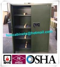 Fireproof Gun Storage Industrial Safety Cabinets , Gun ...