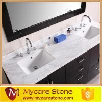 Cheap granite Double sink granite vanity tops of item ...