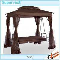 Gazebo Swing Chair With Daybed Modern Outdoor Patio ...