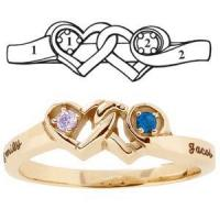 engravable promise rings Images - buy engravable promise rings