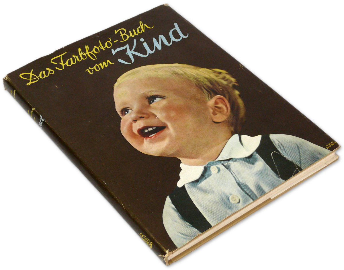 Kinder In Der Wanne German Children Photo Book 1930s In Agfa Color Boy Girl Germany Kids Teen Baby