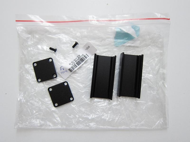 Black Extruded Aluminum Project Box Electronic Enclosure