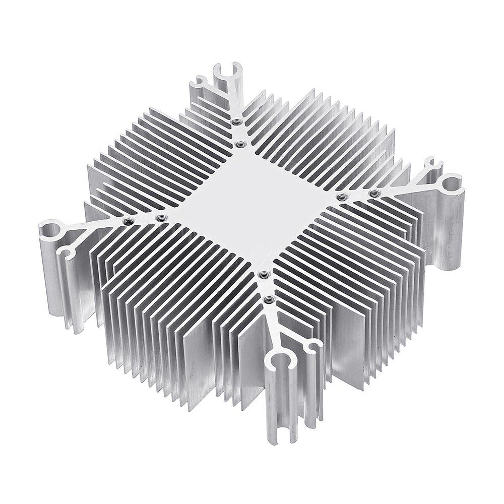 Wattage Radiator 20w 100w Diy Heatsink Aluminium Radiator Cooling For Co