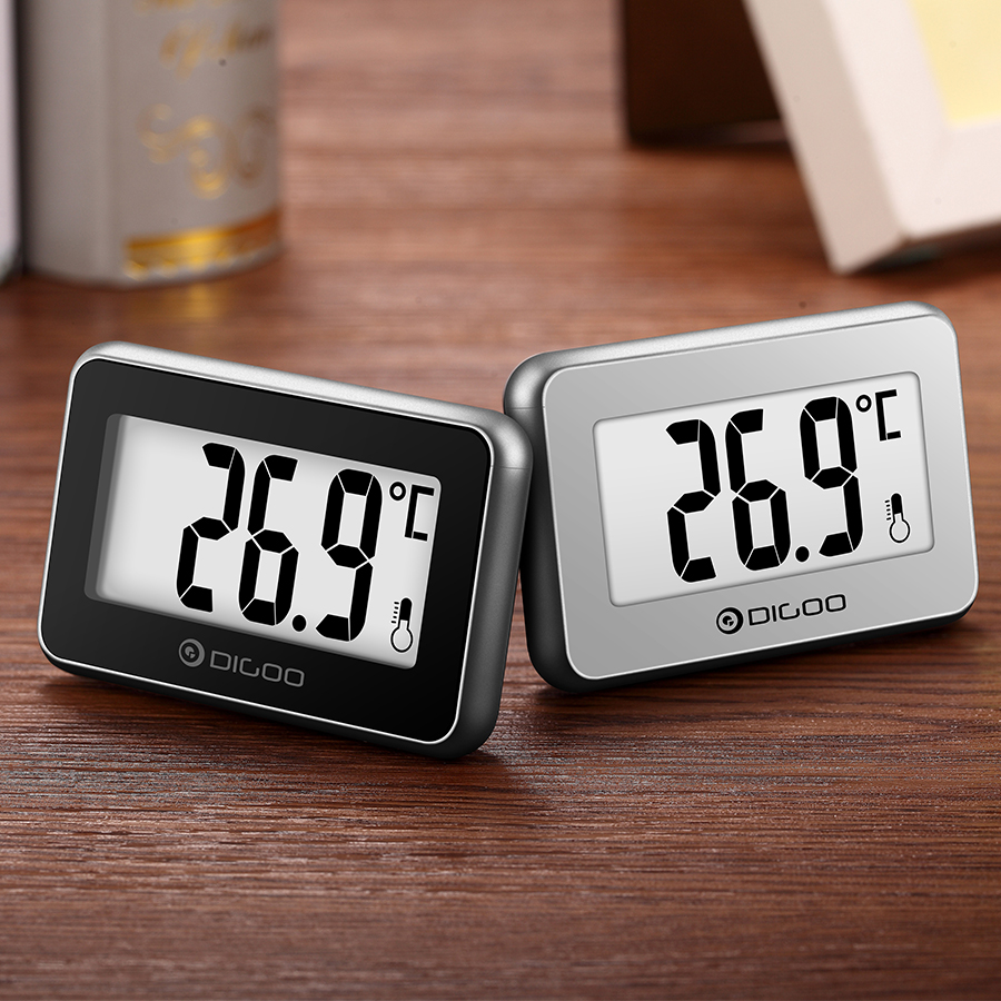 Dg Home Digoo Dg Th1100 2 Little Couple Home Mini Digital Indoor Thermometer Temperature Meter Monitor