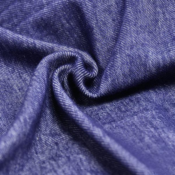 mens casual sexy low waist underwear fashion stitching denim blue