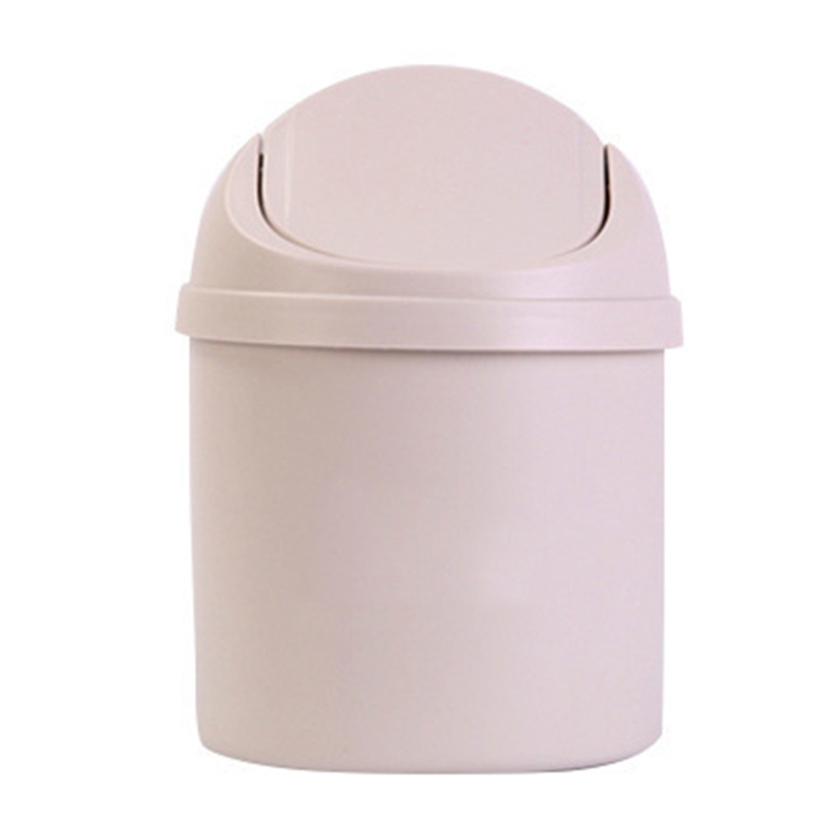 Mini Plastic Trash Can With Lid Mini Waste Bin Desktop Garbage Basket Home Table Trash Can Dustbin Container