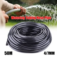 50m Water Pipe Tubing Hose Pipe 4/7mm Micro Drip Garden ...