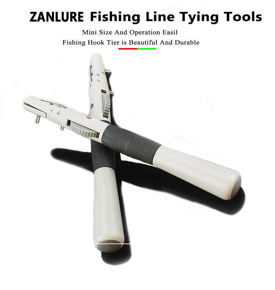 Knotter Device Zanlure Abs Tie Hook Device Manually Fish Hook Wire Knotter Fast Tie Tying Knot Tool Fishing Tool