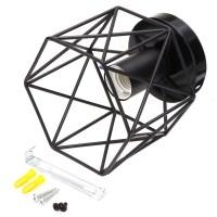 Industrial Vintage Metal Cage Pendant Lamp Diamond Shape ...