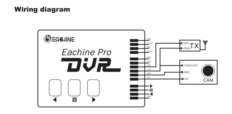 eachine prodvr pro dvr mini video audio recorder for fpv