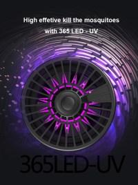Loskii LM-707 USB Powered Smart LED UV Mosquito Killer ...