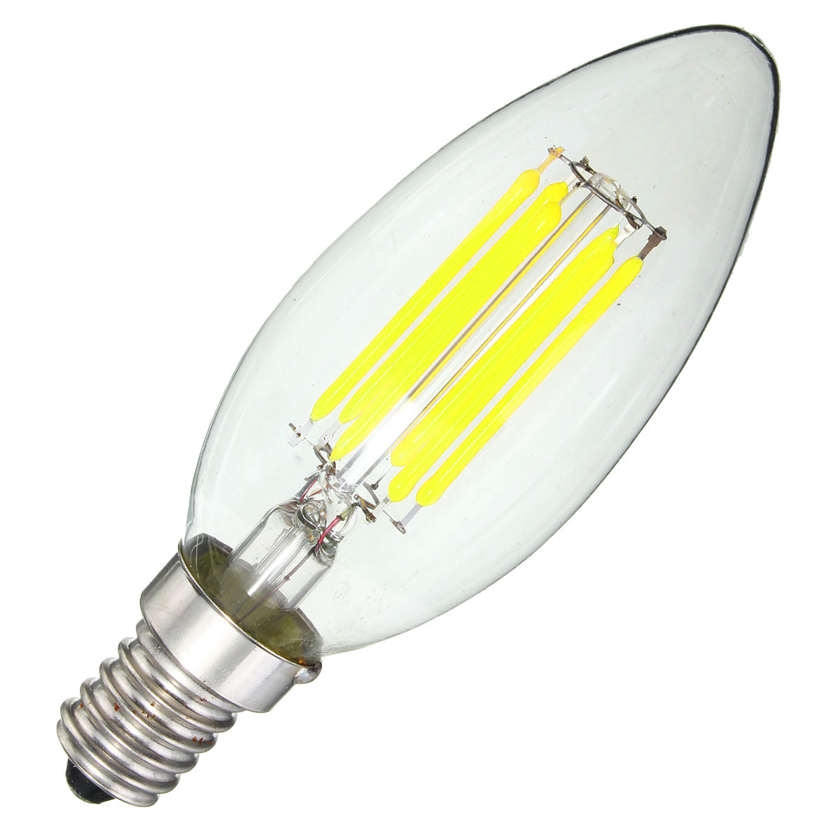 Ampoule Led E14 6w E14 6w Torchis Ampoule 600lm Edison Filament Dimmable Led