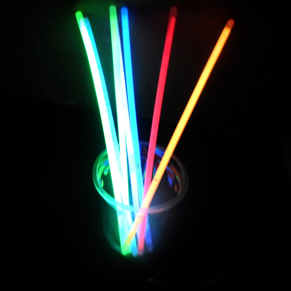 Led Glow Sticks 100pcs Multi Color Ritium Glow Sticks Dark Party Lights Bracelets Glow Sticks Wedding Decoration Flashing Led Toys Light Sticks