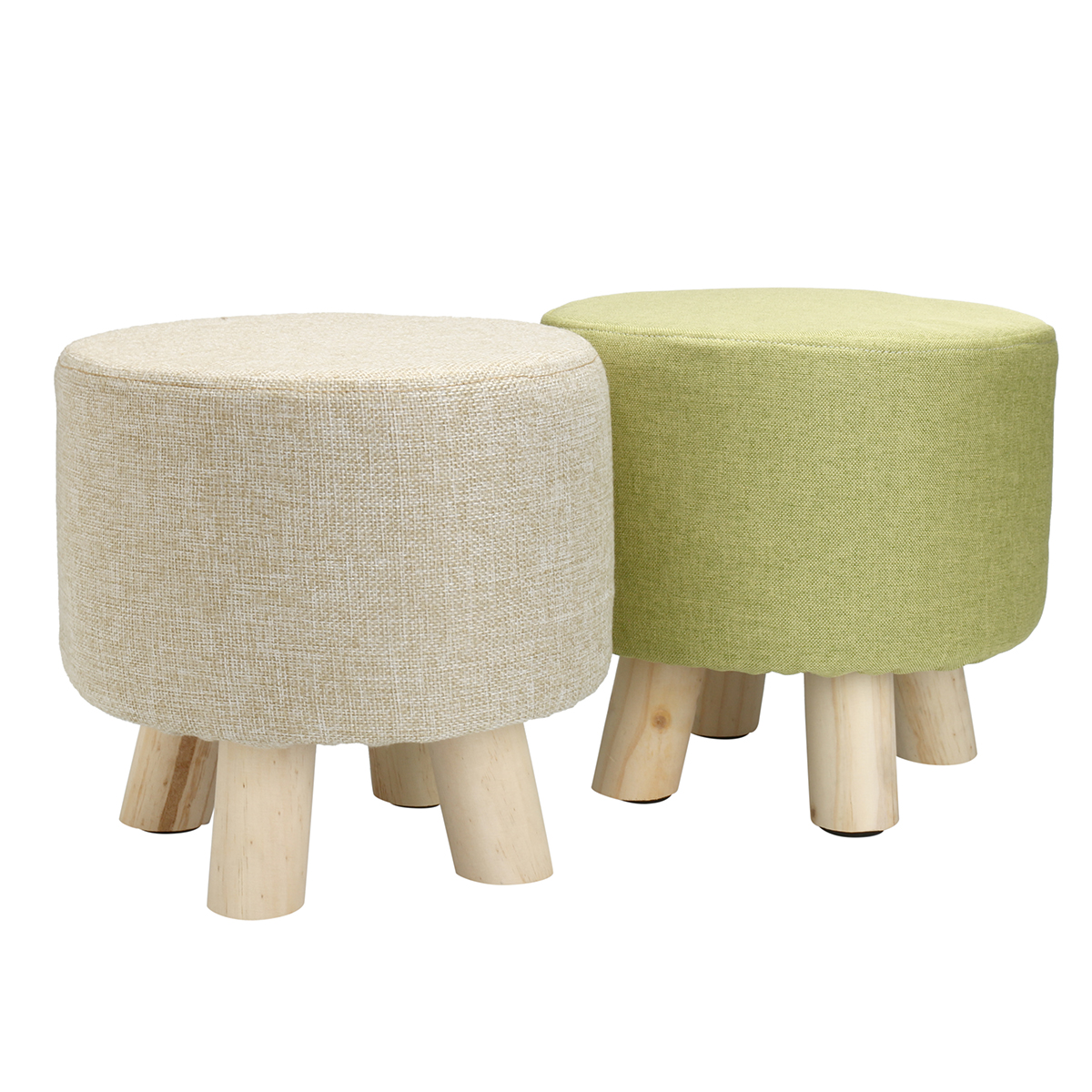 Okergele Poef Hocker Okergeel Beautiful Madam Stoltz Chenille Poef With Hocker