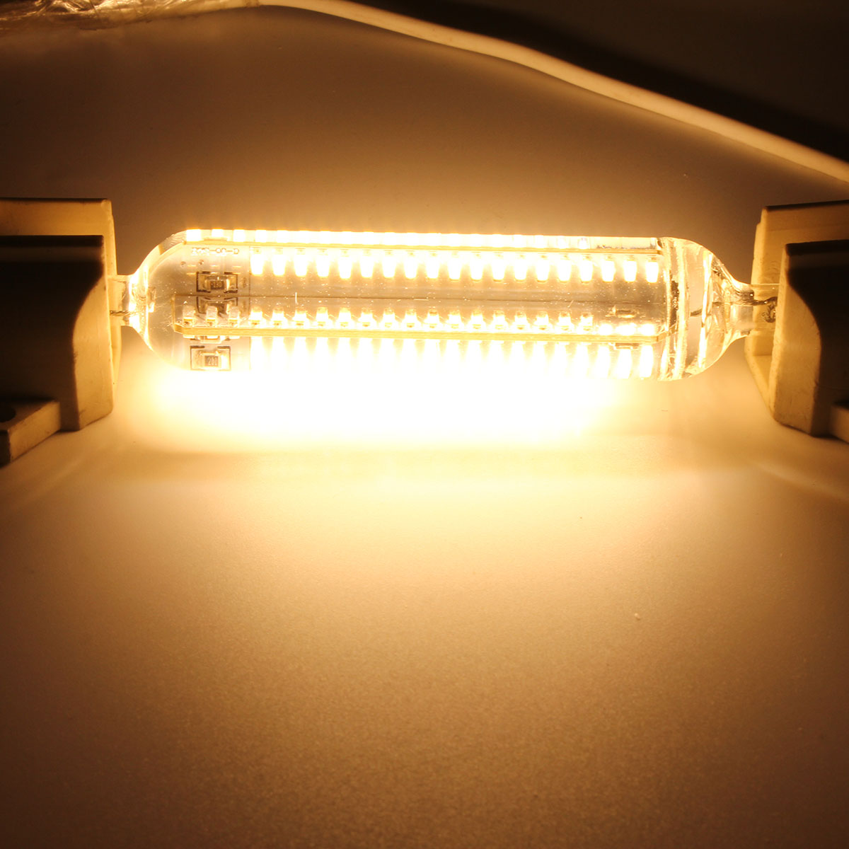 Led Warmes Licht Dimmbare R7s 118mm 10w 152 Smd 4014 Led Pure White Warmes