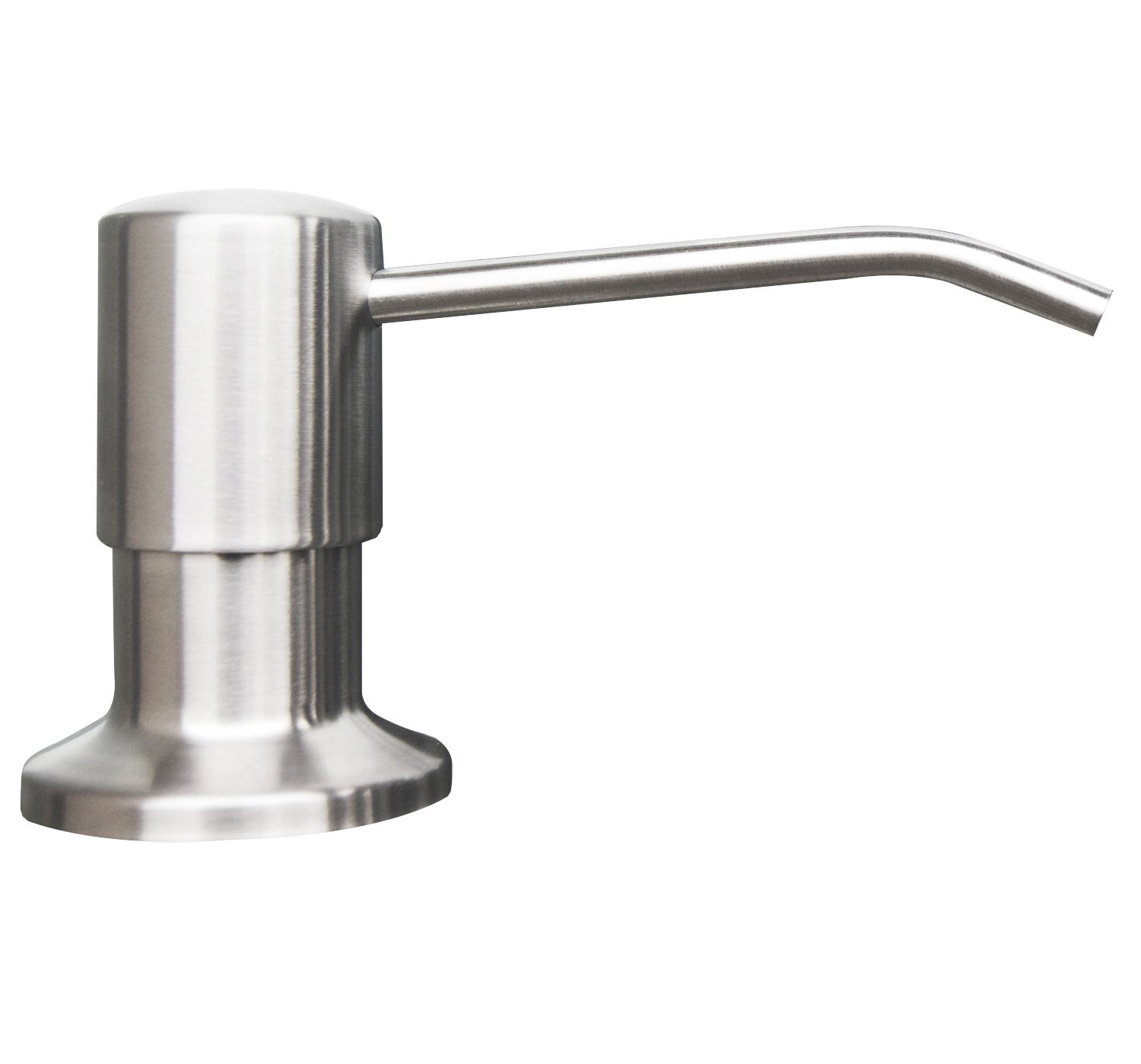 Metal Soap Dispenser Pump Stainless Steel Kitchen Sink Countertop Soap Dispenser