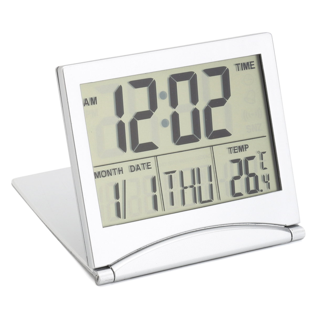 Digital Clock For Sale Digital Lcd Screen Travel Alarm Clocks Table Desk Thermometer Timer Calendar