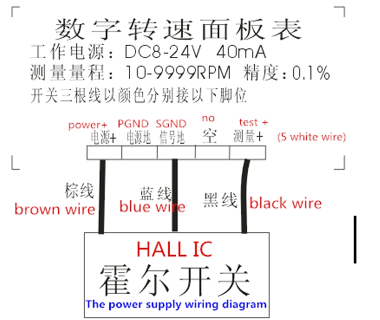 Led Tachometer Wiring Diagram Wiring Schematic Diagram