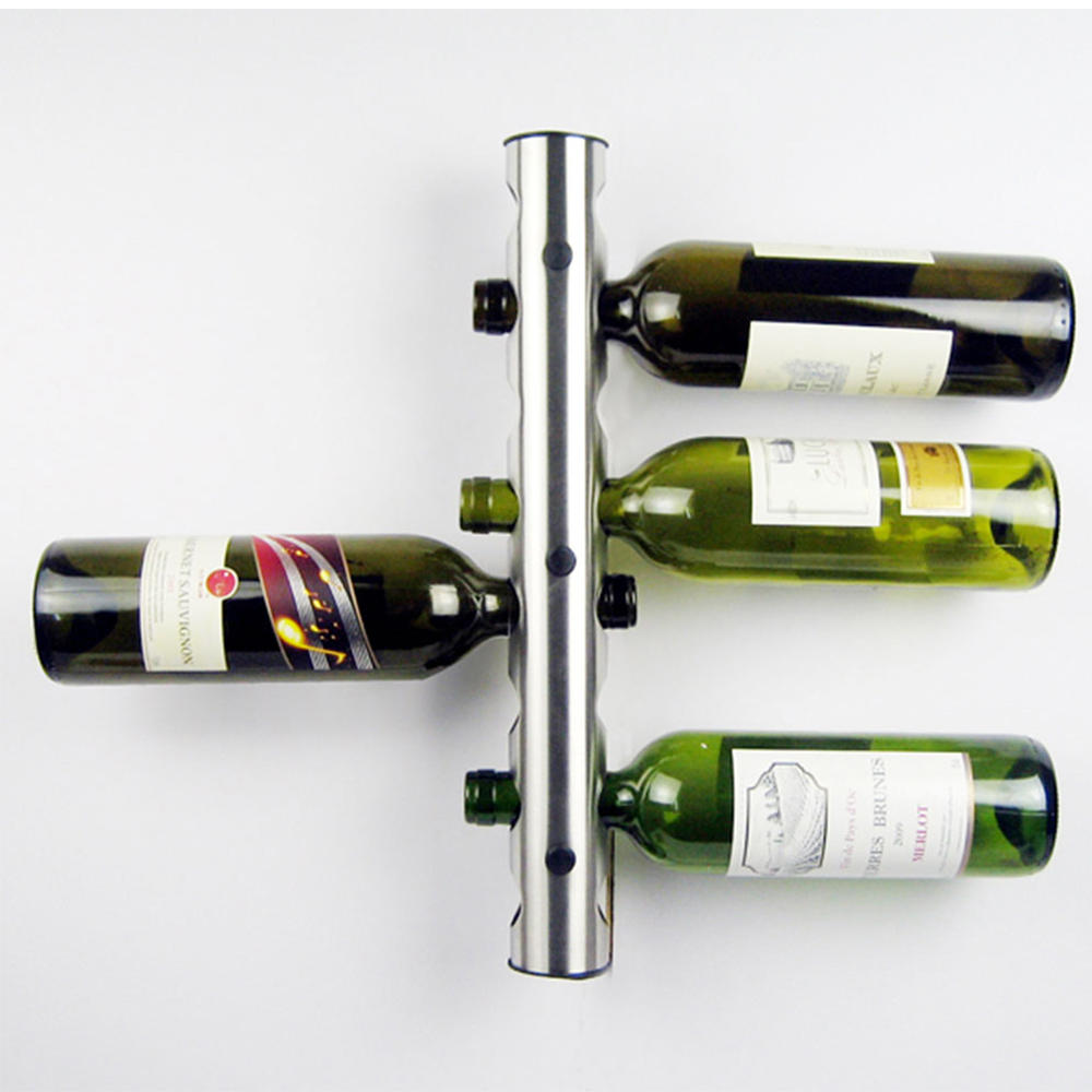 Wine Holder Stand Creative 8 Holes Wine Rack Wine Holders Kitchen Bar Wall Mounted Display Stand Rack Wine Shelf